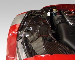 2011-2015 Charger Carbon Fiber Radiator Cover