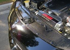 2005-2010 Charger Carbon Fiber Radiator Cover